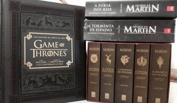Universo Game of Thrones – Livros
