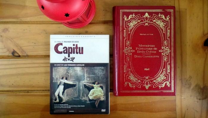 Na tela: livros brasileiros