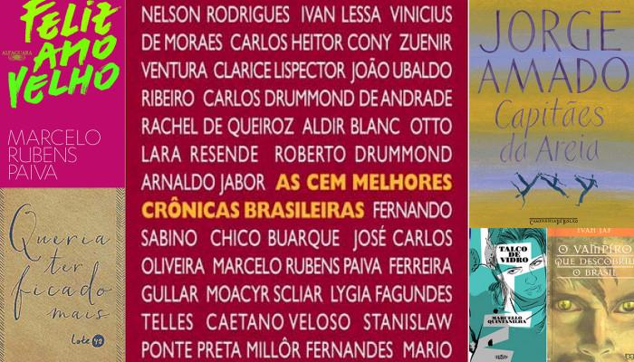 #LeiaBrasileiros Livros nacionais para ler em setembro
