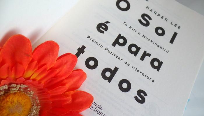 6 frases do livro O sol é para todos