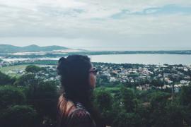 Me apaixonei por Florianópolis