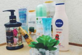 Produtos de beleza: corpo e cabelo
