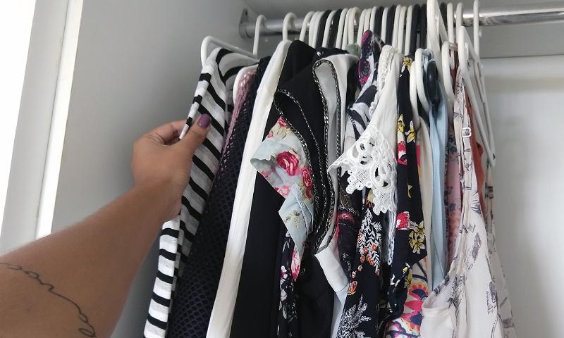 É tempo de arrumar o guarda-roupa