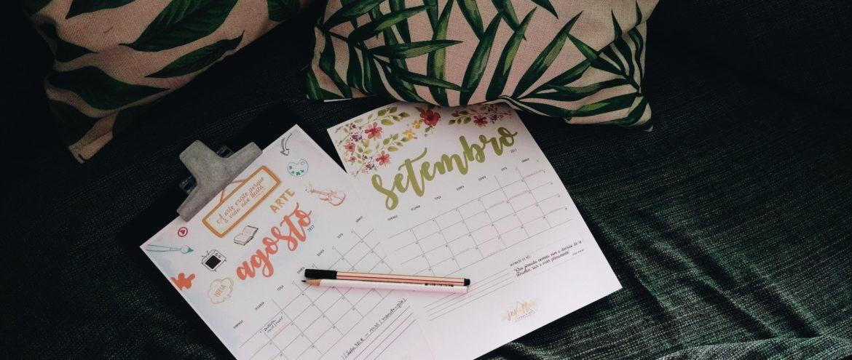 Planner do Geraldas – agosto e setembro de 2017