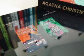 Os primeiros livros publicados por Agatha Christie