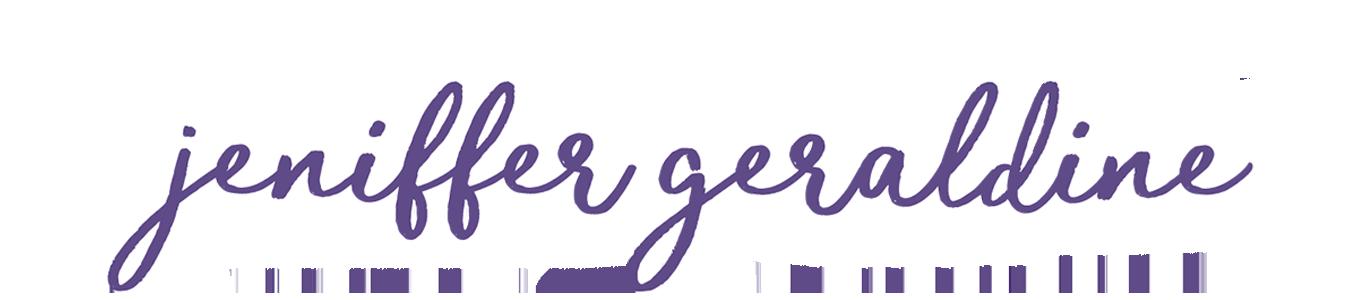 Jeniffer Geraldine | Blog