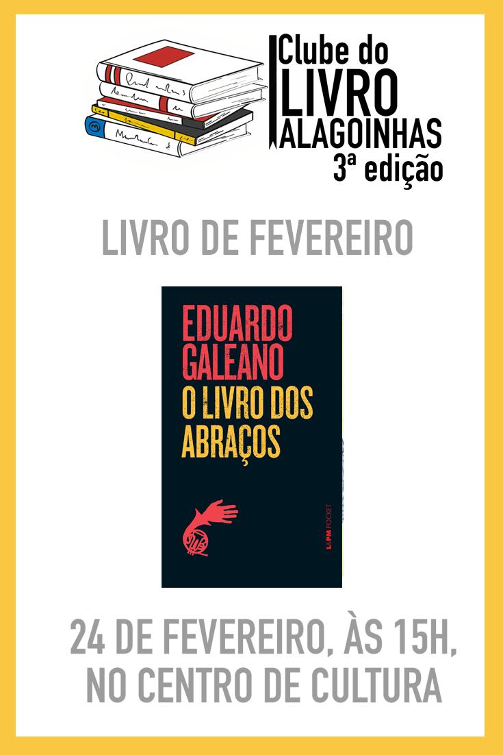3ª edição do Clube do Livro Alagoinhas acontecerá no dia 24 de fevereiro