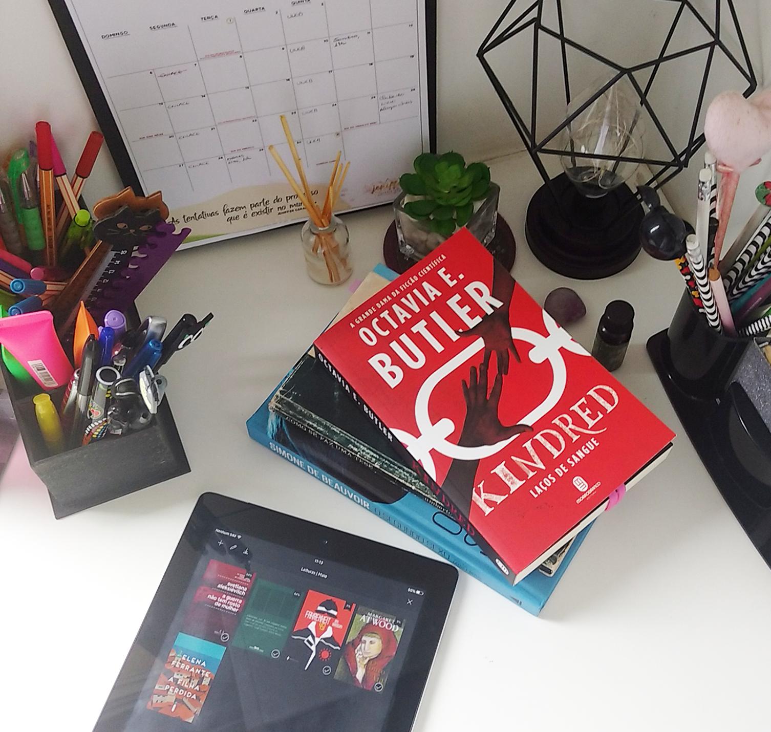 Livros para maio + O que estou lendo