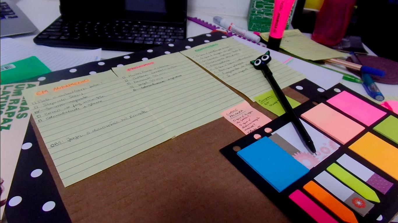 #vlog Leituras e estudos (parte 2)