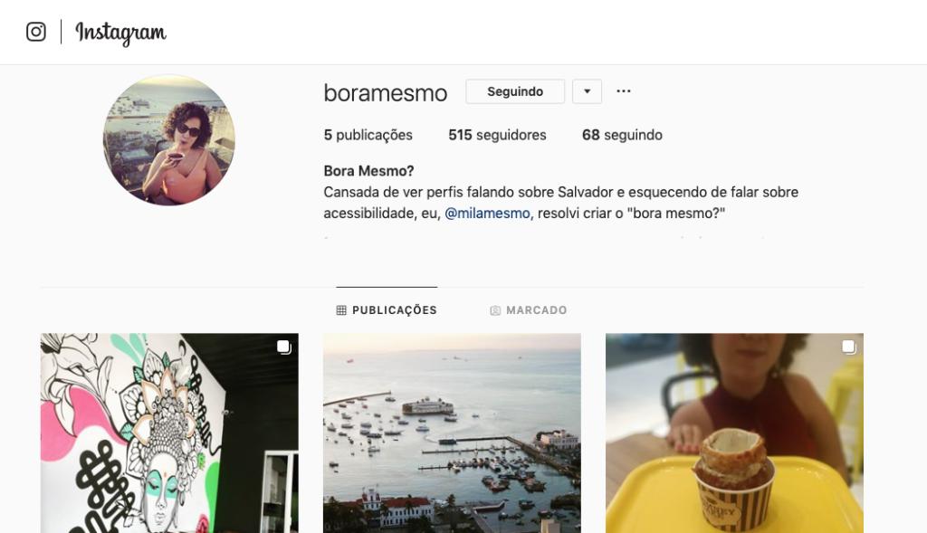 Instagram Bora Mesmo